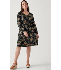 klänning mnolia l/s dress