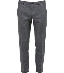 department 5 fleece slim-fit trousers