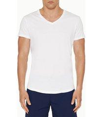 orlebar brown men's obv v neck t-shirt - white - xl - white