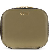 0711 medium ela cosmetic bag - green