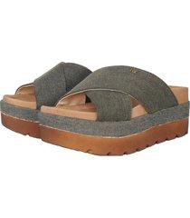 sandalia gris rosevelt shoes ona