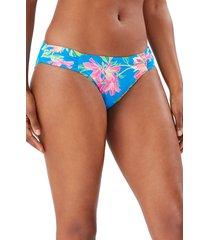 women's tommy bahama sun lilies reversible shirred hipster bikini bottoms