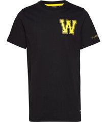max w t-shirt t-shirts short-sleeved svart wesc