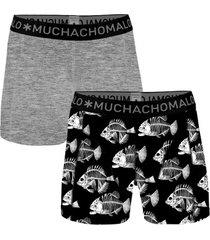 muchachomalo 2 stuks cotton fishbone boxer * gratis verzending * * actie *