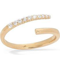 women's lana jewelry flawless graduated diamond bypass ring