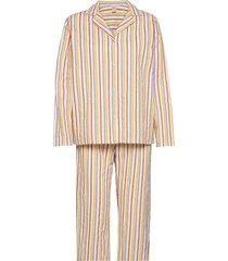 stripe pyjamas set pyjama multi/patroon becksöndergaard