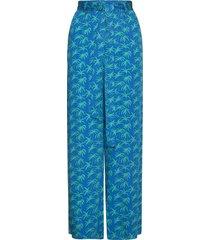 lange broek blauw palmboom