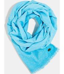 pañuelo algodón ecológico turquesa esprit