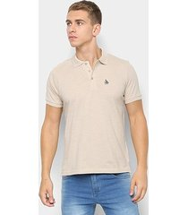 camisa polo nyc - norwich yatch club básica masculina