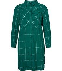jurk geruite blouse