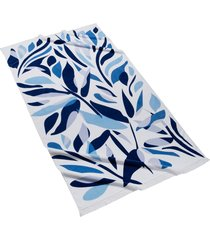 kassatex alameda cotton velour beach towel