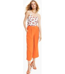 bar iii cropped culotte pants, created for macy's
