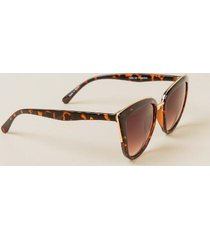 zarita cat eye sunglasses - tortoise