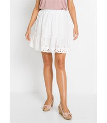 rok met broderie anglaise