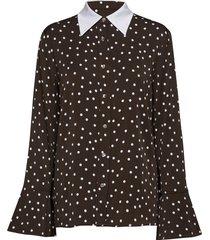 jelis overhemd met lange mouwen zwart custommade
