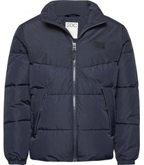 jackets outdoor woven fodrad jacka blå edc by esprit