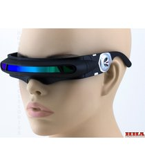 space robot alien party costume cyclops futuristic wrap robot sunglasses robocop