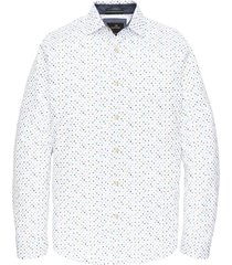 long sleeve shirt print bright white