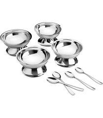 kit para sobremesa aço inox 8 pç. tramontina 64400770