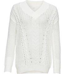 maglione con scollo a v (bianco) - bodyflirt