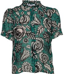 rosella shirt aop 9695 blouse lange mouwen samsøe samsøe