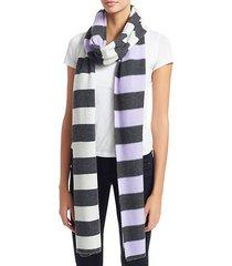 multi max cashmere stripe scarf