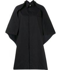 y's cape shirt - black
