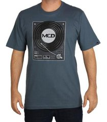camiseta mcd regular vinil masculina