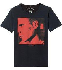 camiseta john john rg super pic malha algodão azul masculina (night sky, gg)