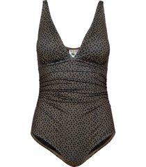 artygz swimsuit baddräkt badkläder svart gestuz