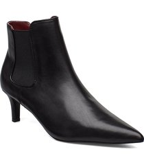 feria shoes boots ankle boots ankle boots with heel svart tiger of sweden