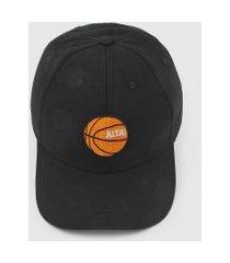 boné altai basquete preto
