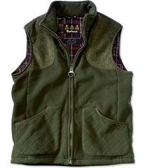 barbour dunmoor fleece vest
