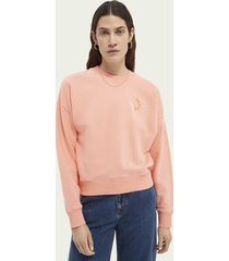 scotch & soda relaxed-fit organic cotton sweater