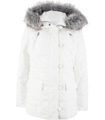 giaccone imbottito con cappuccio (bianco) - bpc bonprix collection