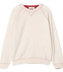 brunello cucinelli cream sweatshirt