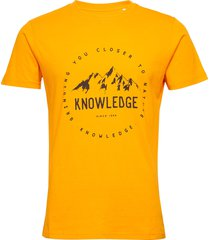 alder tee - gots/vegan t-shirts short-sleeved gul knowledge cotton apparel