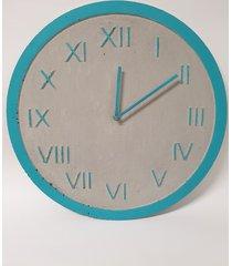 zegar industrialny betonowy szary let's colour