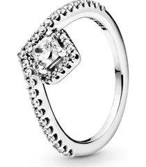 anel chevron elegância eterna