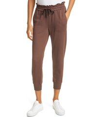 women's cami nyc lynley joggers, size x-large - brown