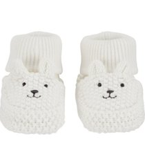 carter's baby boy or girl bear baby booties