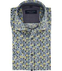 overhemd casa moda stippen dessin casual fit