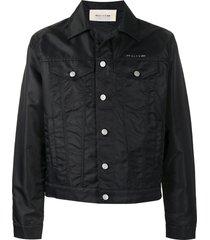 1017 alyx 9sm satin-shell jacket - black
