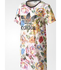 new adidas 2017 floralita tee dress womens farm flowers dress tshirt br5111