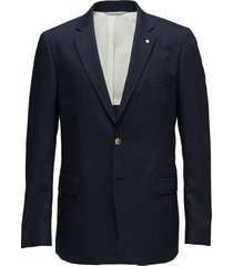 the slim club blazer blazer colbert blauw gant