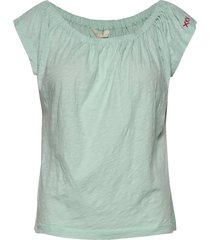 dooer top t-shirts & tops short-sleeved blå odd molly