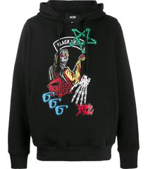 ktz death metal collection devil hoodie - black