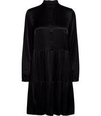 pzmiley dress kort klänning svart pulz jeans