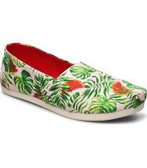 spn vil watrmln loafers låga skor multi/mönstrad toms