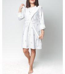 mood pajama sleepy cat-ultra soft nightgown & robe set, online only